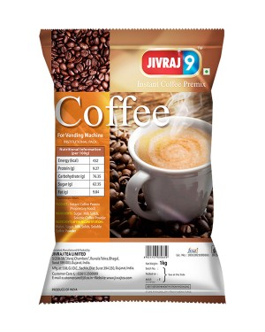Jivraj 9 Instant Coffee Premix for Vending Machine
